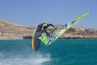 Maarten van Ochten Shovit Spock PWA Worldcup Fuerteventura Photo John Carter