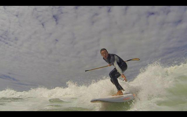Maarten van Ochten SUP into the cam